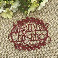 Casa de arte /'Feliz Navidad Santa escena Carpeta de grabación en relieve