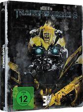TRANSFORMERS 3 (Shia LeBeouf, John Turturro) Blu-ray Disc, Steelbook NEU+OVP