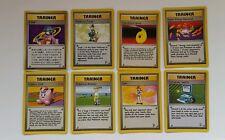Pokemon Cards Trainer Lot Breeder Devolution Spray Computer Search Lass Energy