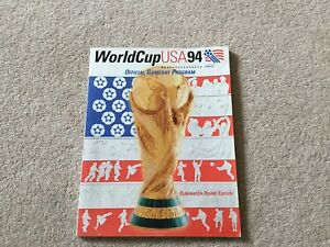 World Cup USA 94 Official Game Day Programme (vgc)