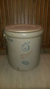 Vintage Red Wing Union Stoneware Co 5 Gallon Crock