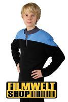 STAR TREK Voyager Uniform - deluxe - blau - NEU - M