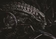 Ilustración De La Pintura Película Película Alien giger espeluznante cartel de impresión de arte Regalo GZ5708