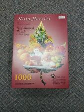 Cat Puzzle 1000 Pieces Kitty Harvest Mary Ann Lasher Collectors Series Leaf 3111