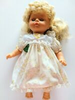 VINTAGE LUCKY BELL COLLECTIBLE BLONDE DOLL 1989