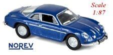 Alpine Renault A 110 de 1973 bleu métallisé - NOREV - Echelle 1/87 - Ho