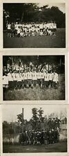 PHOTO ANCIENNE - VINTAGE SNAPSHOT - SCOUT SCOUTISME JEANNETTE GROUPE MODE 1929