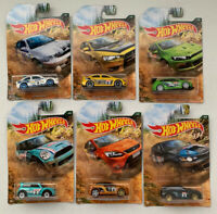 2019 Hot Wheels Walmart Exclusive Backroad Rally Series Complete Set Of 6. 1:64
