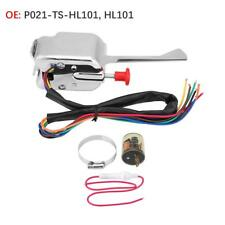 12V Universal Street Hot Rod Chrome Turn Signal Switch For FORD GMC BUICK HL101