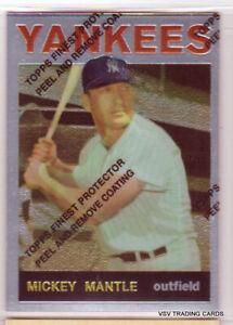 Mickey Mantle, 1996 Topps 1964 Commemorative Card #50, New York Yankees, HOFr