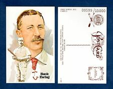 Buck Ewing, Giants: Perez-Steele Hall Of Fame art postcard (1 of 10,000 issued)