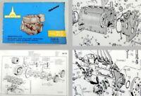 Deutz F4L811D F4L812D Ersatzteilliste Bildkatalog Spare Parts List