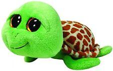TY UK 6-Inch Zippy Beanie Boo Turtle Tartaruga Morbido Giocattolo Ty UK POST LIBERO