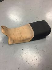 BMW R100 R80 DOUBLE SEAT BENCH LOW BLACK/YELLOW 52532322643