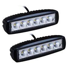 10 x LED de luces de trabajo Spot 18W Compacto A Prueba de Golpes Coche Furgoneta Off Road barco 12V 24V