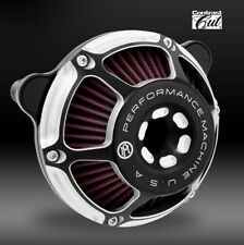 Performance Machine PM Max HP Contrast Cut  Air Cleaner for Harley & Custom