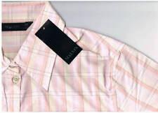Markenlose Kurzarm Damenblusen, - tops & -shirts mit klassischem Kragen