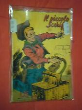 PICCOLO SCERIFFO- N° 22 -DEL 1955 ANNO 8° LIRE 25-LIBRETTO TORELLI -CON -KIT-