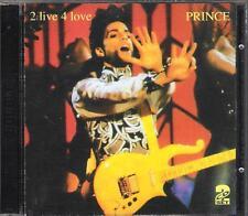"PRINCE - RARO 2 CD ITALY ONLY 1993 "" 2 LIVE 4 LOVE """
