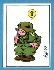 [GCG] STURMTRUPPEN - Corno 1977 - Figurina-Sticker - n. 7 -New