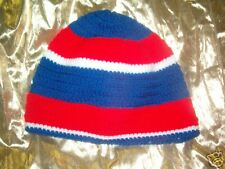 "NEW HAND-MADE CROCHET HAT ""BOSTON BOY"" RAP"