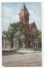 Centre Methodist Episcopal Church Malden Massachusetts 1910c postcard