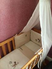Bambi Nursery Package.  Cot set   nappy stacker   Fleece Blanket  neutral colour