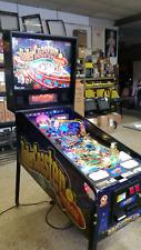 Roller Coaster Tycoon pinball machine w/ Led light upgrade rare pin by Stern