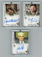 SPIDER-MAN MOVIE AUTOGRAPHED CARDS SET OF 3