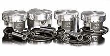 Wiseco Pistons for 100mm Stroker 2G DSM Eclipse 4G63 7 bolt 85.5mm 9.7:1 Evo 1-3