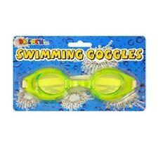 Lunettes de natation et d'aquagym jaune