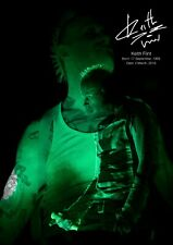 Keith Flint Poster tribute - Retro effect #5 - The Prodigy - A3 - 420mm x 297mm