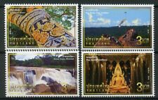 Thailand 2018 MNH Unseen Thailand Buddha 4v Set Trees Waterfalls Tourism Stamps