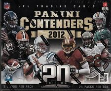 2012 Panini Contenders Football HOBBY Box Factory Sealed Andrew Luck AUTO?