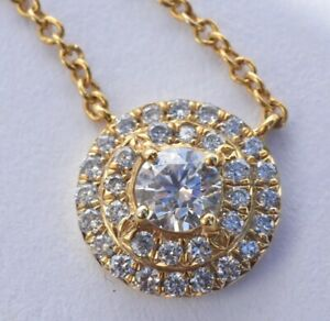 Tiffany & Co Diamond Soleste Necklace
