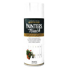 x8 Rust-Oleum Painters Touch Multi-Purpose Aerosol Spray Paint White Matt