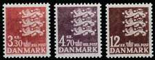 Denemarken postfris 1981 MNH 725-727 - Rijkswapen