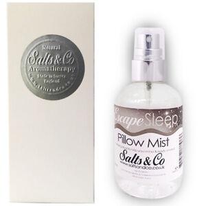 Lavender & Cedarwood Pillow Spray 100ml - Escape Sleep - Salts & Co Aromatherapy