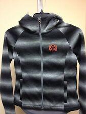 Auburn Tigers WOMEN'S Grey/Black Alpine Zone Zip Jacket Medium Sample NWOT G-III