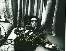 Music legend ELVIS COSTELLO  Signed 8x10