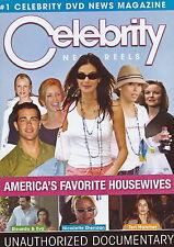Celebrity News Reels - Americas Favorite Housewives - Documentary - NEW DVD
