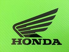 Honda Wings with Honda for Track bike or road fairing Decals Stickers PAIR #11A