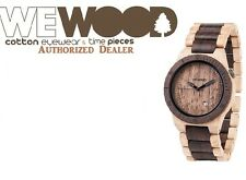 New WeWood BETA Beige Chocolate Wood Wooden Watch Michael Kors Nixon swiss ck