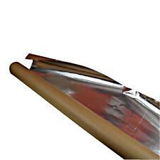 Aluminiumfolie Sauna 30qm robuste Alufolie Dampfsperre für Saunabau