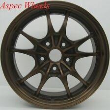 16x7 Rota Circuit 10 4X100 +45 Sport Bronze Wheels (Set Of 4)