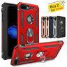 For iPhone XS Max XR 7 8 Plus 6S Armor Shockproof Magnetic Ring Stand Case Cover