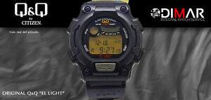 Vintage Watch Q&Q The Light. 9926, Wr 16 5/12ft Lap Memory 10. (M 113-002)
