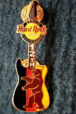 HRC Hard Rock Cafe Berlin 12th Anniversary 2004 Guitar Bear LE800