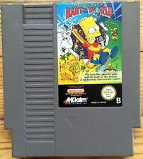 THE SIMPSONS BART VS THE WORLD NINTENDO NES PAL B DEUTSCH NES-Y9-NOE GAME SPIEL