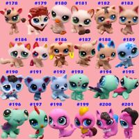 24pcs/set Littlest Pet Shop Rare Hasbro LPS Cute Animal Toys Kids Xmas Gift Hot